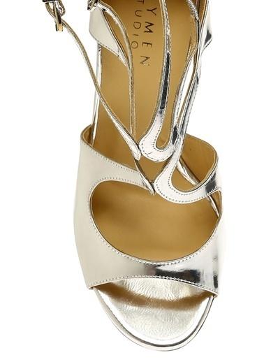Beymen Studio Ayakkabı Gümüş